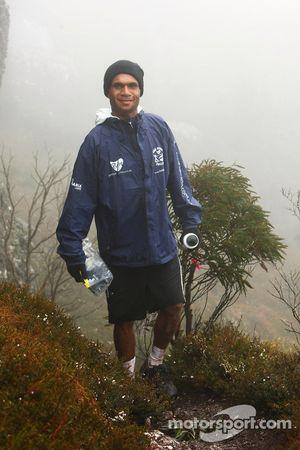 Launceston, Australia: Javith Ababu of Team No Roads in action