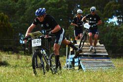 Launceston, Australia: Richard Palmer of Team Telstra in action