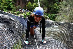 Launceston, Australia: Jacinta Worland of Team Telstra Next G in action