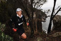 Port Arthur, Australia: David Moffatt of Team Telstra Next G in action