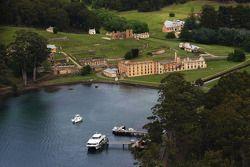 Port Arthur, Australia: the historic site of Port Arthur is seen
