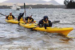 Port Arthur, Australia: kayaking action