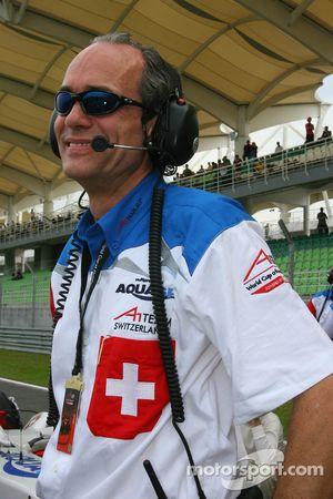 Max Welti, Seat holder of A1 Team Switzerland
