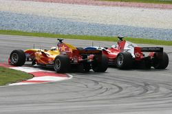 Ho Pin Tung, Pilote de l'équipe de Chine, Marco Andretti, pilote de l'équipe des USA