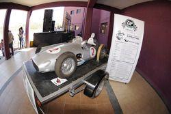 Réplica del Mercedes W196 de Juan Manuel Fangio