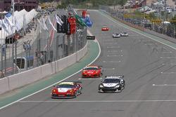 #95 Advanced Engineering Pecom Racing Team Ferrari F430: Matias Russo, Luis Perez Companc, #3 SRT Corvette C6R:  Maxime Soulet, Christian Ledesma
