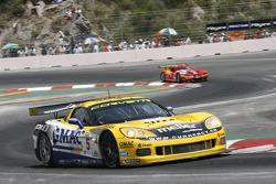 #5 Phoenix Carsport Racing Corvette C6R: Marcel Fassler, Ricardo Risatti