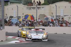 #4 PK Carsport Saleen SR7: Anthony Kumpen, Bert Longin, #6 Phoenix Carsport Racing Corvette C6R: Mike Hezemans, Fabrizio Gollin
