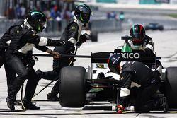 David Garza de A1 Team Mexico
