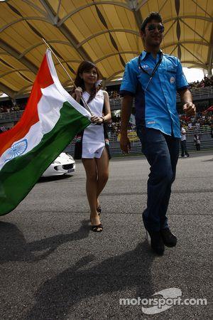 Armaan Ebrahim of A1 Team India
