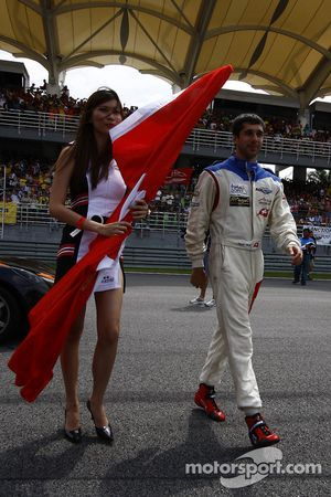 Neel Jani of A1 Team Switzerland