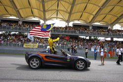 Fairuz Fauzy of A1 Team Malaysia