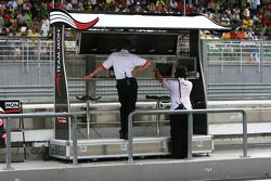 L'équipe de Monaco
