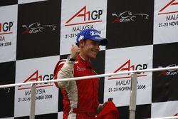 Podium: second place Filipe Albuquerque
