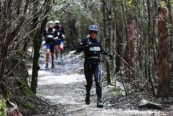 Hobart, Australie: Deanna Blegg de l'équipe Keen en action