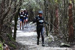 Hobart, Australia: Deanna Blegg of Team Keen in action