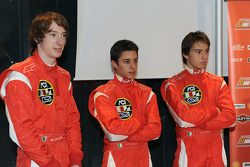 Mirko Bortolotti, Salvatore Cicatelli and Edoardo Piscopo