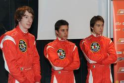 Mirko Bortolotti, Salvatore Cicatelli and Edoardo Piscopo
