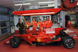 Piero Ferrari, Gino Macaluso, Salvatore Cicatelli, Mirko Bortolotti, Edoardo Piscopo, Luca Baldisserri and Andrea Bertolini