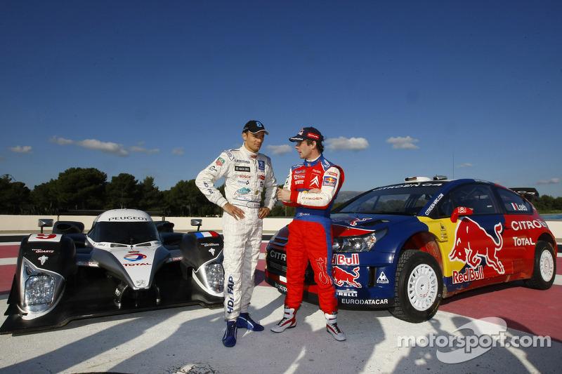 2008 год. Сарразен и Леб (LMS и WRC)
