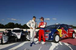 Себастьен Лёб и Стефан Сарразен, Peugeot 908 и Citroen C4 WRC