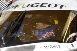 Sébastien Loeb dans la Peugeot Sport Total Peugeot 909