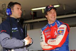Sébastien Loeb avec Christophe Besse