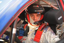 Stéphane Sarrazin dans la Citroen Total WRT Citroen C4 WRC