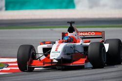Clivio Piccione, pilote de l'équipe de Monaco