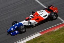 Marco Andretti,pilote de l'équipe des USA