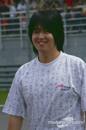 Jin-Woo Hwang, driver of A1 team Korea