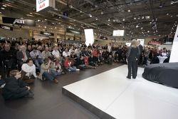 juste avant que la Audi R8 LMSsoit révélé, pendant le Essen Motor Show