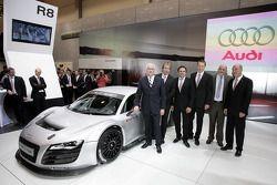 la Audi R8 LMS pendant sa présentation au Essen Motor Show