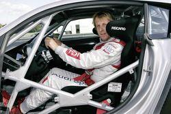 Frank Biela dans la Audi R8 LMS