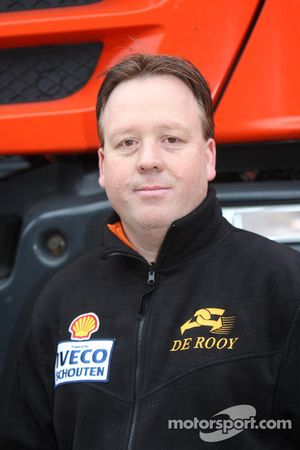 l'équipe de Rooy: Toine van Oorschot, camion de soutien #859