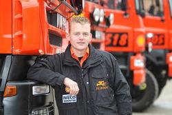 l'équipe de Rooy: Gerard de Rooy,pilote du camion de rally #506