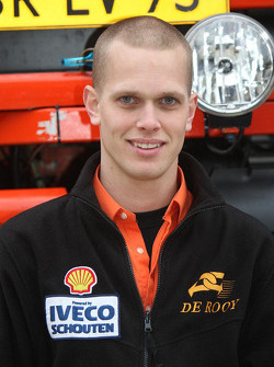 Team de Rooy: Marcel van Melis, co-driver rally truck #505