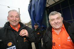 l'équipe de Rooy: Hans Bekx et Jan de Rooy