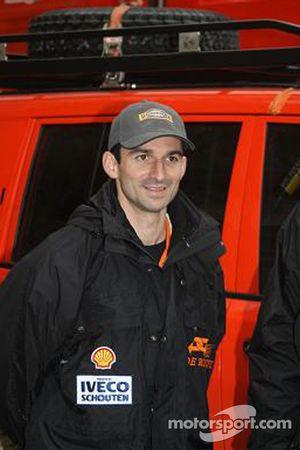 l'équipe de Rooy: Sébastien Catta