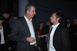 Dr Klaus Draeger with WTCC driver Andy Priaulx