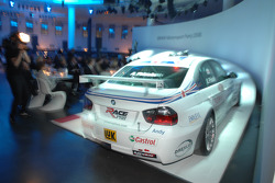 BMW driver Andy Priaulx in the BMW WTCC Touring car