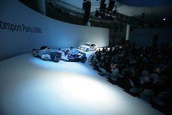 BMW Sauber F1 Team driver Robert Kubica in the BMW Sauber F1 car