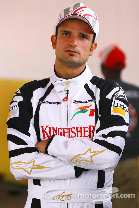 Vitantonio Liuzzi, Test Pilotu, Force India F1 Team ve Jeff Gordon, NASCar pilotu