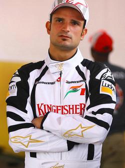 Vitantonio Liuzzi, Test Pilotu, Force India F1 Team ve Jeff Gordon, NASCar pilotu