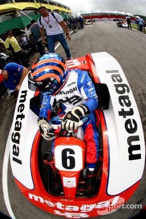 Tony Kanaan, pilote pour IndyCar