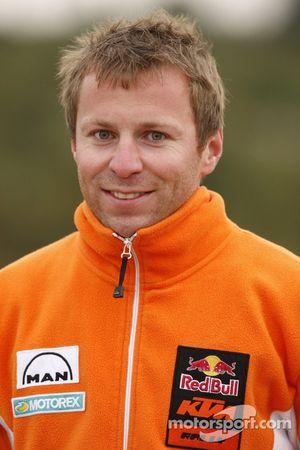 KTM: Stefan Huber,manager technique