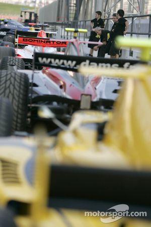 GP2 Asia Cars