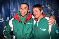 Valentino Rossi und Matthew Wilson