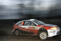 Barry Clark and Paul Nagle, Stobart VK M-Sport Ford Rally Team Ford Focus RS WRC07