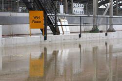 la course Sprint a été annulée à cause d'inondation